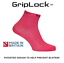 Neon Pink Sockmine GripLock™ Lightweight Running Socks