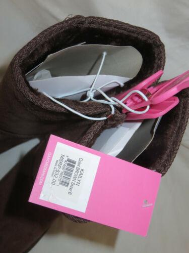 Isaac Mizrahi Kailyn Slip On Winter Boots Tan Brown Navy Black 6 8 $32