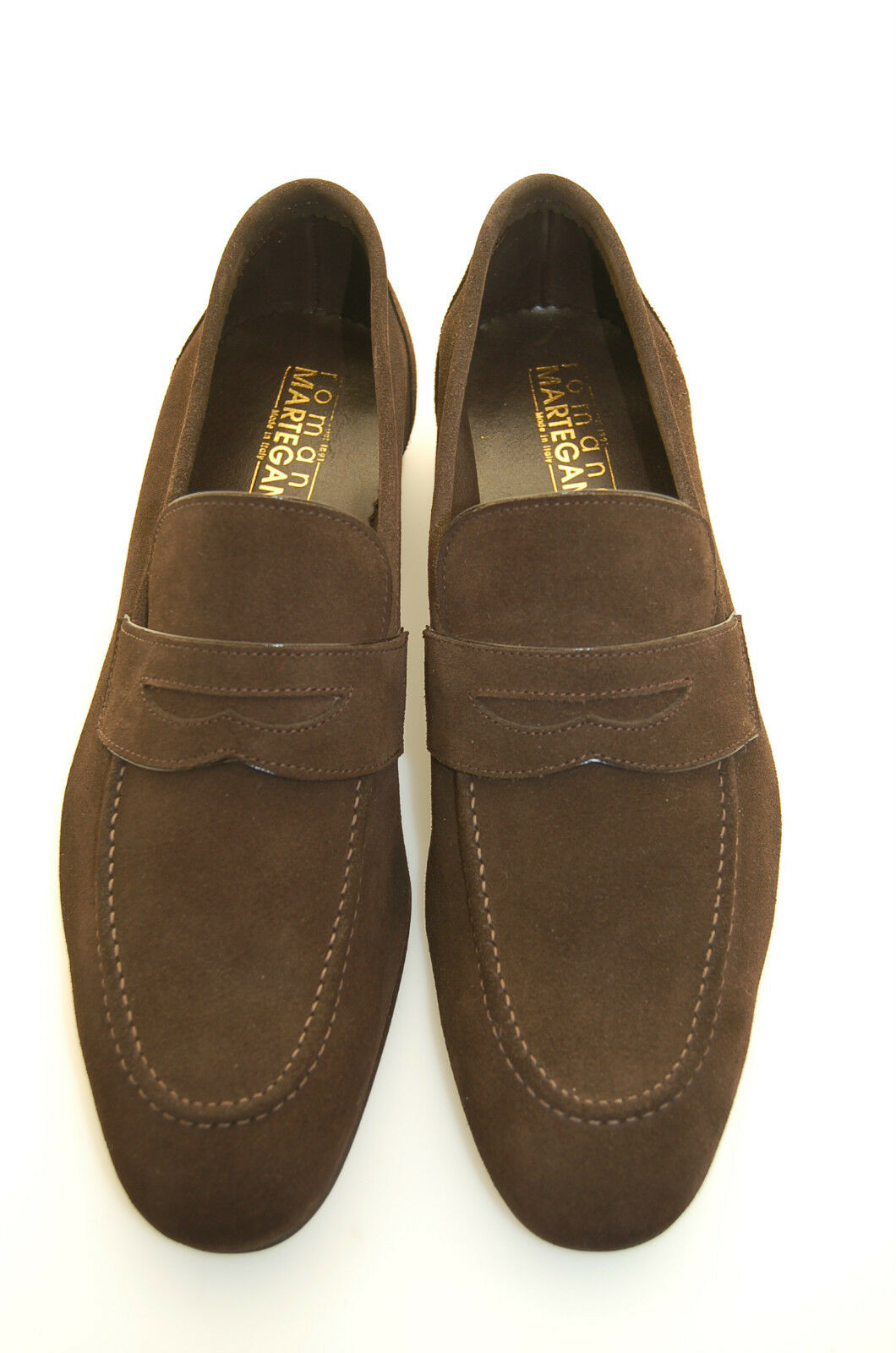 MAN - PENNY LOAFER - HEAD BROWN SUEDE - SINGLE LTH SOLE - BLAKE CONSTRUCTION