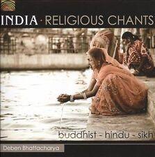 NEW - India / Religiuos Chants by Bhatttacharya Deben