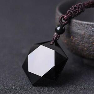 Halskette-Obsidian-Frauen-Stein-Anhaenger-Schmuck-Pullover-Kette-Ornamente-2-L0F6