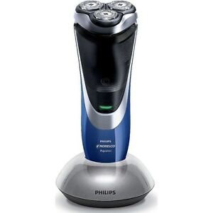 Norelco-AT814-Wet-amp-Dry-Powertouch-Electric-Razor-Mens-Aquatec-Rotary-Shaver