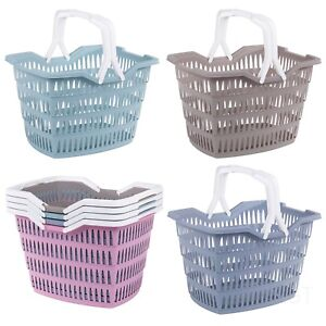 Picnic-Basket-Willy-Laundry-Washing-With-Carrying-Handles-Home-Bathroom-Park-30L
