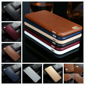 Fashion-Luxury-Soft-TPU-Leather-Slim-Skin-Case-Cover-For-Apple-iPhone-6S-7-Plus