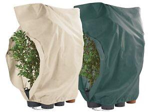 Winterschutz Vlies Frostschutz Haube L mit Reißverschluß 200 cm für Pflanzen