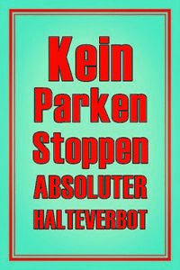 Kein-Park-No-Stopping-Tin-Sign-Shield-Arched-Tin-Sign-20-x-30-cm-CC1010