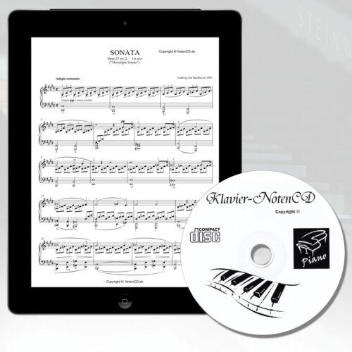 *KLAVIERNOTEN* MEGA SAMMLUNG auf CD* für Klavier Keyboard und Digitalpiano