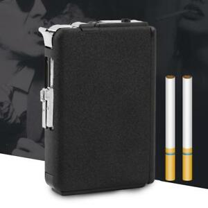 2-in1-Cigarette-Case-with-Lighter-USB-Charging-Lighter-Metal-Cigarette-Box