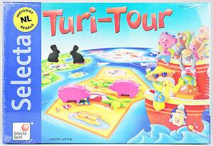 TURI-TOUR-Gesellschaftsspiel-Tiere-auf-Urlaub-Fuehlen-und-Tasten-SELECTA-SPIEL