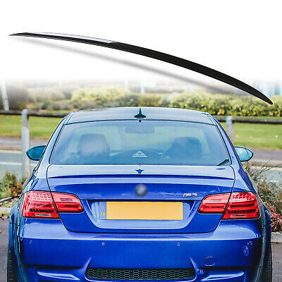 07-13 Painted For BMW E92 3er M3-Type Boot Trunk Spoiler Wing Black 475