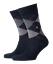 BURLINGTON-CALCETINES-PRESTON-24284-CALCET-N-CORTO-DE-INVIERNO-AJEDREZ-ROMBO-40