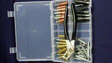 Elementi di fissaggio temporaneo Kit (Cleco/Pelle Pin). confezione da 40 assortiti clecos,