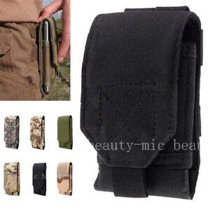 Hot-Belt-Pouch-Bag-Tactical-Holster-Molle-Hip-Waist-Wallet-Zipper-Phone-Case-US