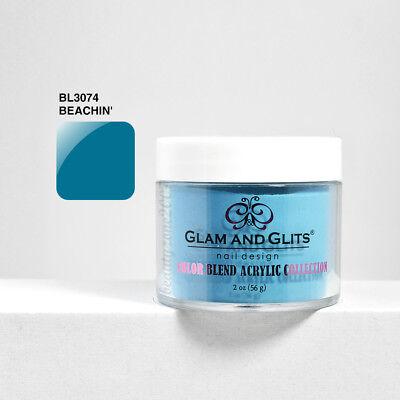 Acrylic Powders & Liquids Strict Glam And Glits Color Blend Nail Powder Bl3074 Beachin' 2oz Health & Beauty
