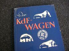 KDF BOOK FIRST VOLKSWAGEN VW KÄFER BUG BEETLE COX DER KDF-WAGEN - WOW