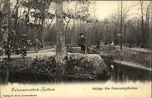 Schwarzenbek-Kollow-1910-Anlage-Genesungsheim-Sanatorium-gelaufen-n-Bergedorf