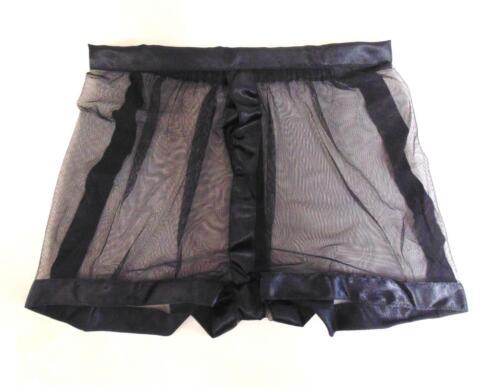 """34/"""" a 36/"""" girovita MASCHIO Sheer Pantaloncini L da MicheleX di Londra"""