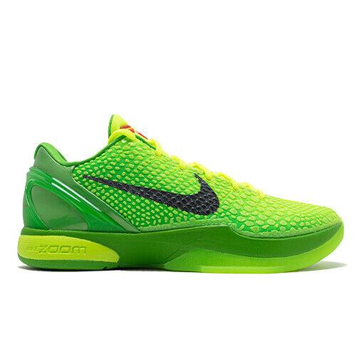 Size 7.5 - Nike Zoom Kobe 6 Protro Grinch 2020 for sale online | eBay
