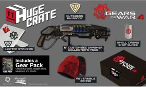 Gears-of-War-4-Huge-Crate-Fan-Box-NEU-amp-OVP