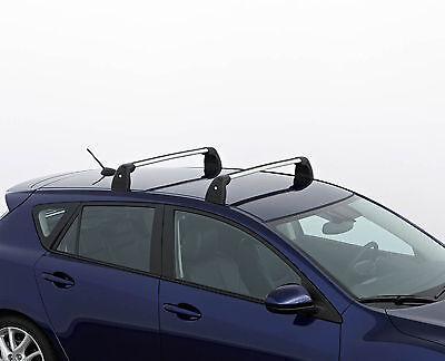 New Genuine Mazda 3 Aluminium Roof Bars//Rack Carrier System BDA1V4701