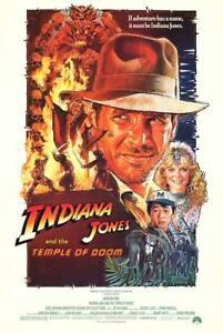 Temple-of-Doom-Indiana-Jones-35mm-Film-Cell-strip-very-Rare-var-q