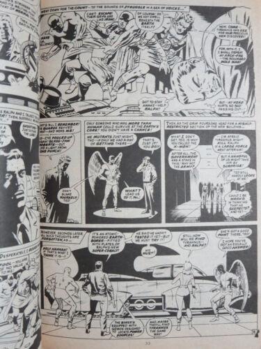 6Diff BW Spider-Man Fantastic Four X-Men Marvel 1982 British Digest Lot D