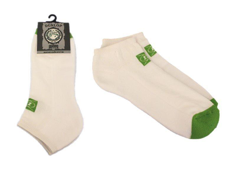 Dunlop Sneaker 42-47 Füßlinge 3-10 Paar Freizeit Socken 42 43 44 45 46 47 weiß