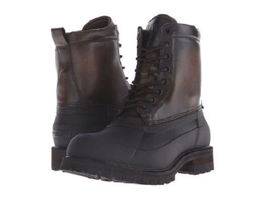 New FRYE Men's Alaska Lace-Up Rain Boot Stone/Multi Sizes 9.5. 11, 12 MSRP  258