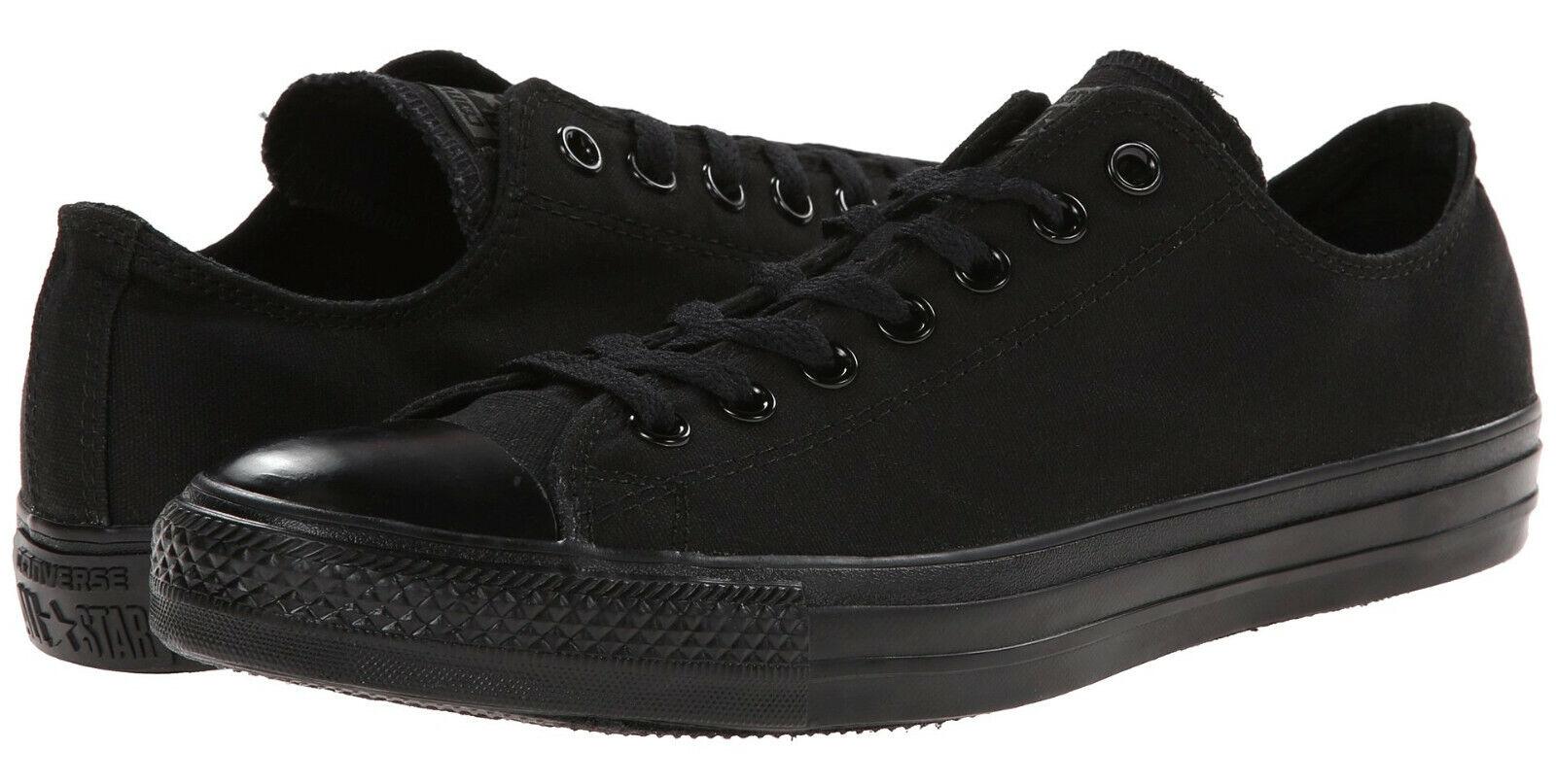 Conversare Chuck Taylor Low Tops nero  Mono OX Mens scarpe da ginnastica Tennis scarpe M5039  supporto al dettaglio all'ingrosso