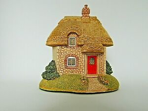 Lilliput-Lane-Sunnyside-Cottage-Collectable-Vintage-Ornament-With-Deeds