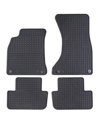Gummimatten Gummi Fußmatten für Audi A4 B8 2008-2016 Komplettset Motohobby