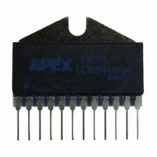 APEX PA93 ZIP-12 HIGH VOLTAGE POWER OPERATIONAL AMPLIFIERS