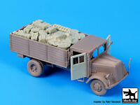 Blackdog Models 1/72 German Wwii Opel Blitz Truck Resin Set