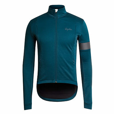 Rapha Cycling Dark Blue Winter Jersey. Various Sizes. BNWT.