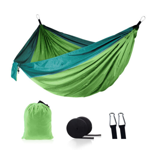 Outdoor Travel Lightweight Hanging Bed Portable Double Person Camping Hammock