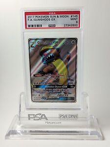PSA-9-MINT-Gumshoos-GX-Full-Art-145-Pokemon