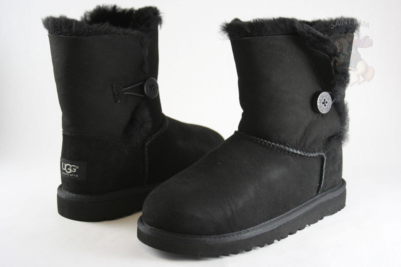 619170bbd2f Toddler UGG Australia Bailey Button Boot 5991t Black 100 Original 7