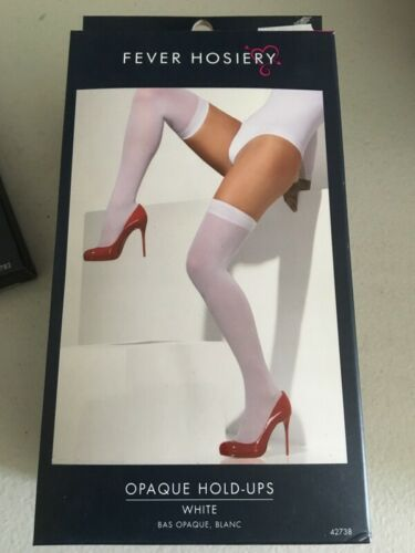 Smiffys Opaque White Hold-Ups