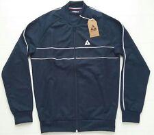 Para hombre Le Coq Sportif Top Vintage Retro 90s Casuals Vintage Ultras terracewear