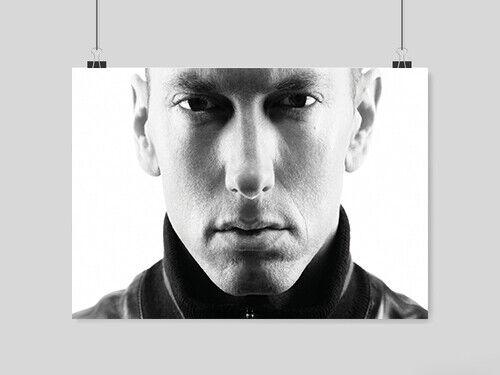 EMINEM A3 dimensioni Poster USA rapper MUSICA Muro Foto Stampa