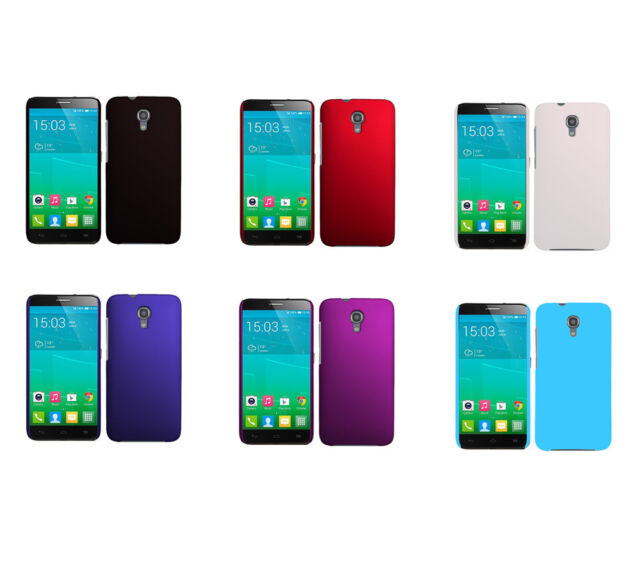 Hard Matte Snap-On Cover Case For Alcatel One Touch Idol 2S OT-6050
