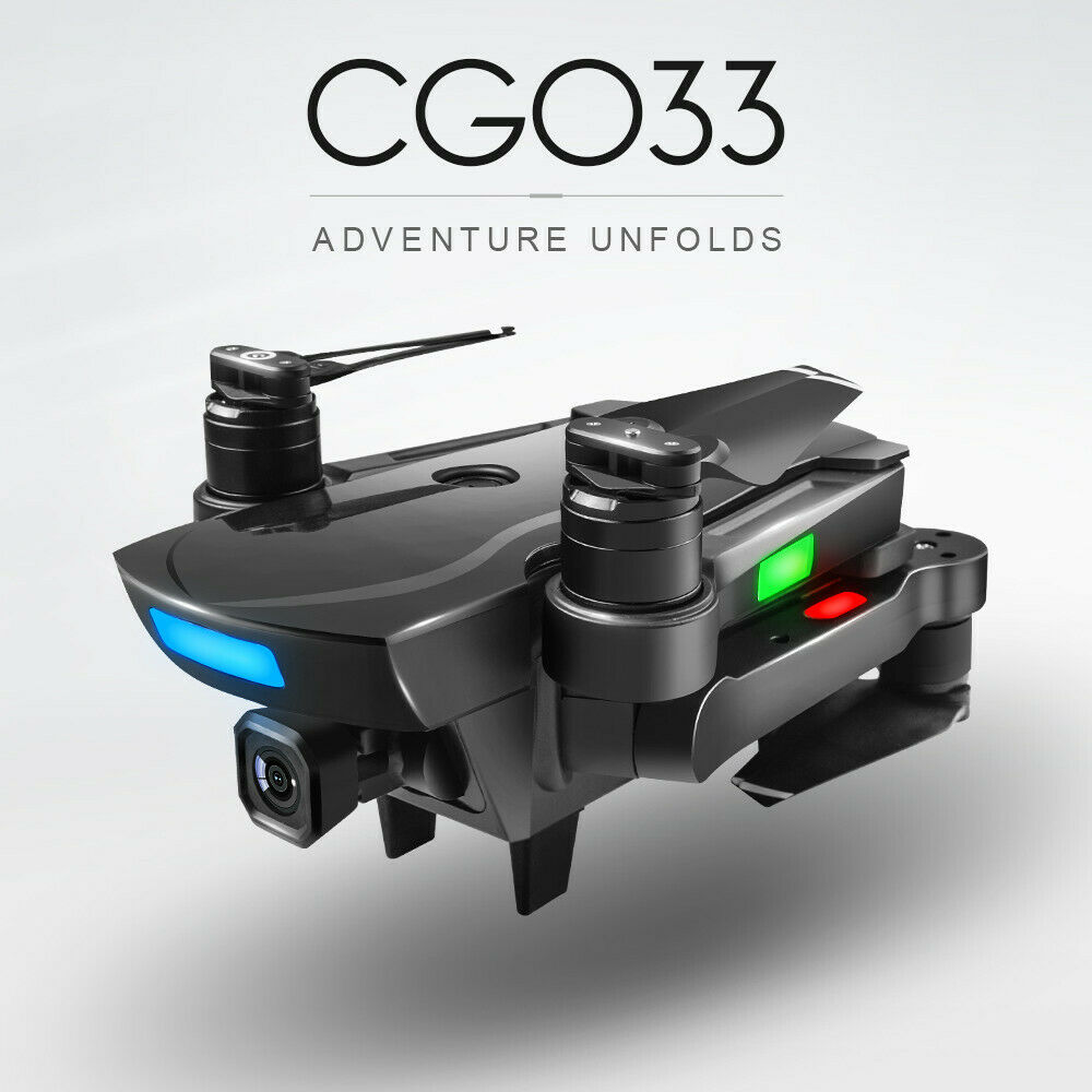 CG033 Brushless 2.4G FPV Wifi HD telecamera GPS Altitude Hold  Quadcopter Drone 2019  economico online