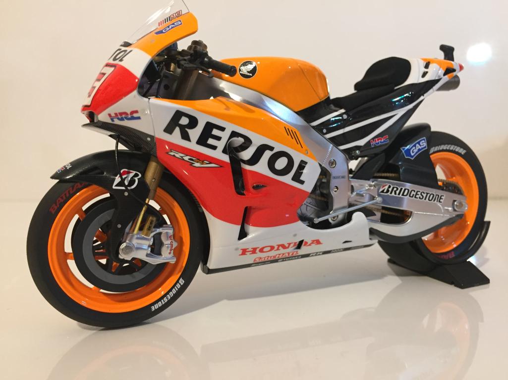 Minichamps 122 141193 HONDA rc213v REPSOL Marc Marquez MotoGP 2014 scala  12