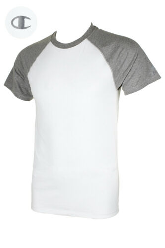 Champion Men/'s Short Raglan Sleeve Crew Neck Athletic T-Shirt