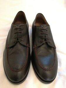 up Leather Castellanisimos Brown 9 Lace Eu Uk Shoes Size 43 EfwwaAcqgd