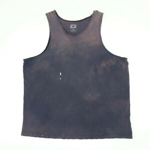 Destroyed-Faded-Black-Bleach-Distressed-Tank-Top-Shirt-Goth-Grunge-Skate-XL