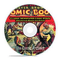 Classic Newspaper Comic Strips, Buster Brown, Nemo, Golden Age Comics Dvd D15