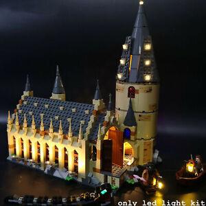 Kyglaring-LED-Licht-fuer-LEGO-75954-Harry-Potter-Hogwarts-Great-Hall-mit-USB-Hub