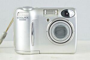 Nikon Coolpix E 4600 4.0 Megapixels 3x Zoom Digital Camera Nikkor ~ Works/Tested
