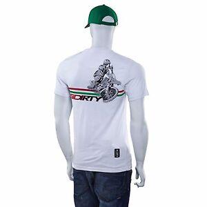 SIDI-CASUALS-SIDIRTY-t-shirt-MX-MOTOCROSS-motorcycle-WHITE